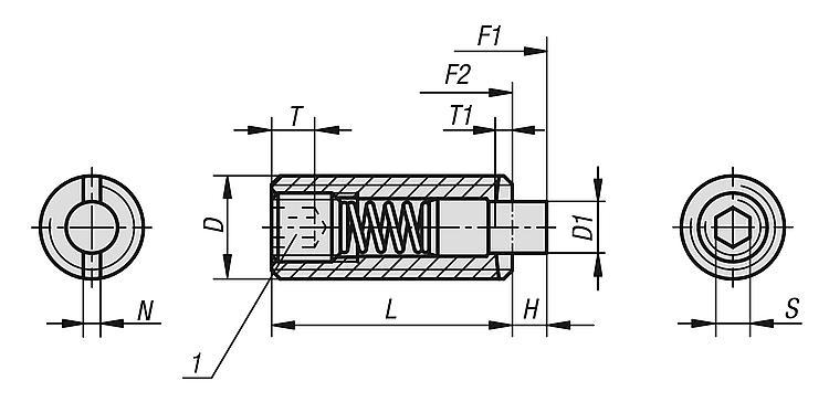gris anthracite /Serrage 4,5/mm 5/m eutras Protection des Bords 1380/Pince profil passepoil ks1104 1/