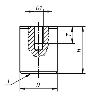 Aimant cylindrique